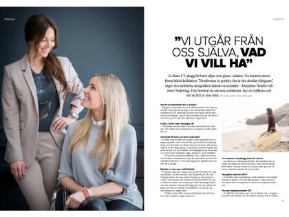 Read about IA BON in Danderyds Magasinet