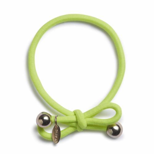 Neon Green - Gold Bead
