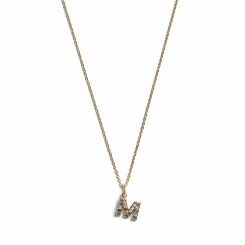 Initial Necklace - Gold - M