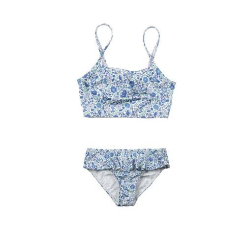 The Valentina bikini - Blue Liberty - Front