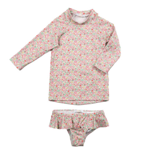 The Lykke - Pink Floral Liberty - Front