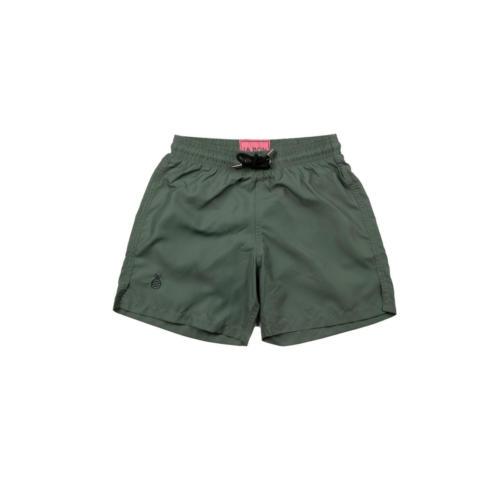 Armt Green Swim Shorts - Front