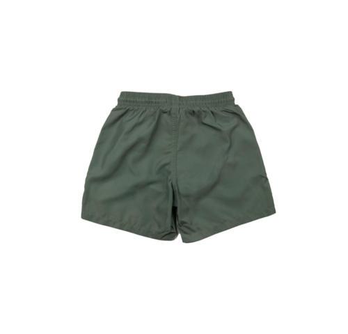 Army Green Swim Shorts - Back