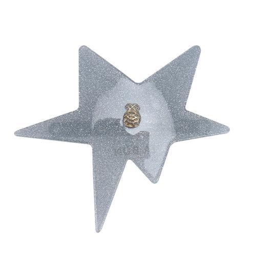 Star Clip - Blue Glitter