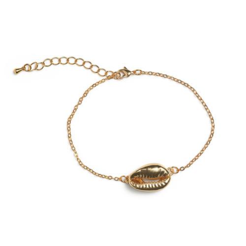 Single Gold Shell Bracelet
