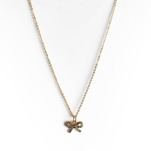 Symbol Necklace Bow