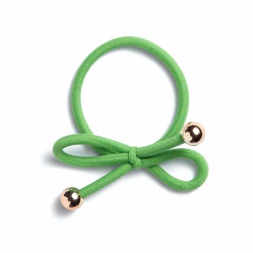 apple green - Gold Bead