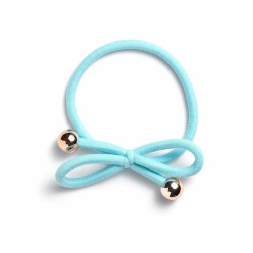 light blue - Gold Bead