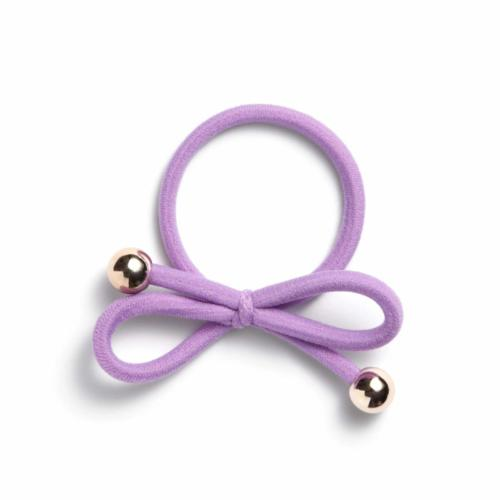 lilac - Gold Bead
