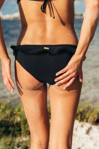 The Nikkie - Black This bikini is 100% made of pre-consumer waste.